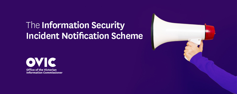 header image for the Information Security Incident Notification Scheme