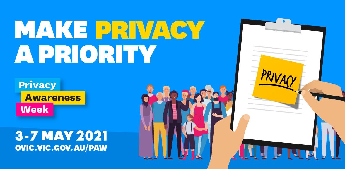 PAW 2021 social media image in blue